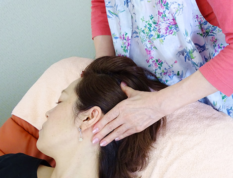 頭蓋骨マッサージの効果