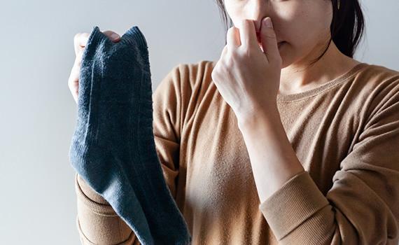 足裏の臭いの原因